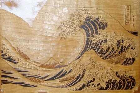 浮世絵版画の型