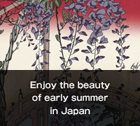 Enjoy the beauty of early summer in Japan. Birds, Flowers and Beauties