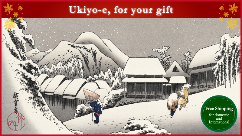Ukiyo-e, for your gift! Free Shipping for domestic and International