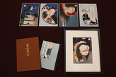 "A set of ""One Hundred Ghost Stories (Hyaku monogatari)"" with a free frame"