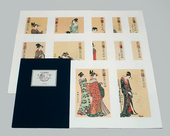 "A set of ""The Twelve Hours in the Yoshiwara"""