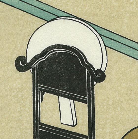 鈴木春信 座敷八景 鏡台の秋月