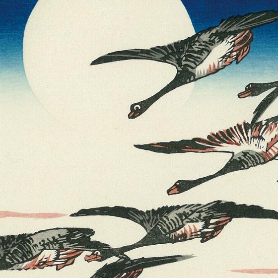 歌川広重 高輪之明月