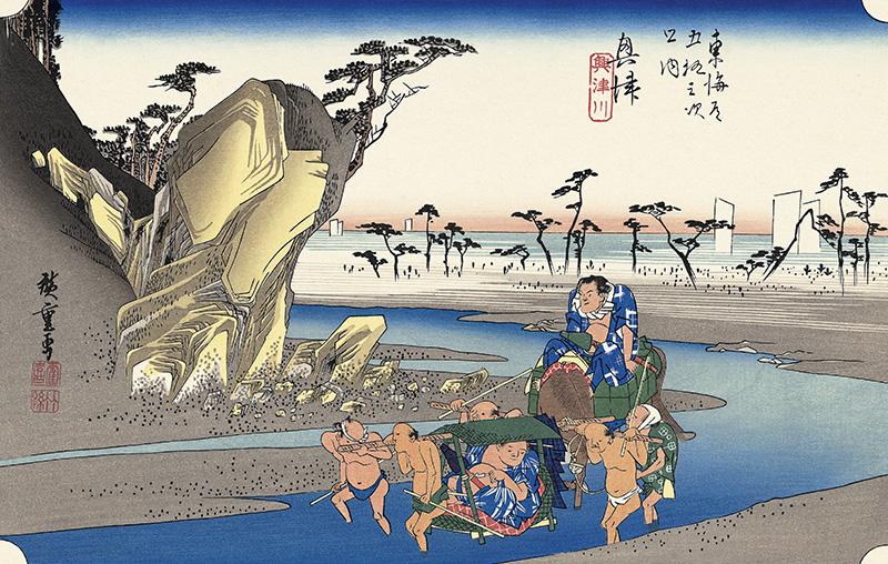 奥津 興津川