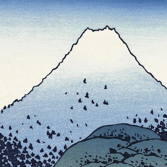 Umezawa In Sagami Province Katsushika Hokusai Thirty Six Views Of Mt Fuji Adachi Woodcut Prints Ukiyoe Online Store